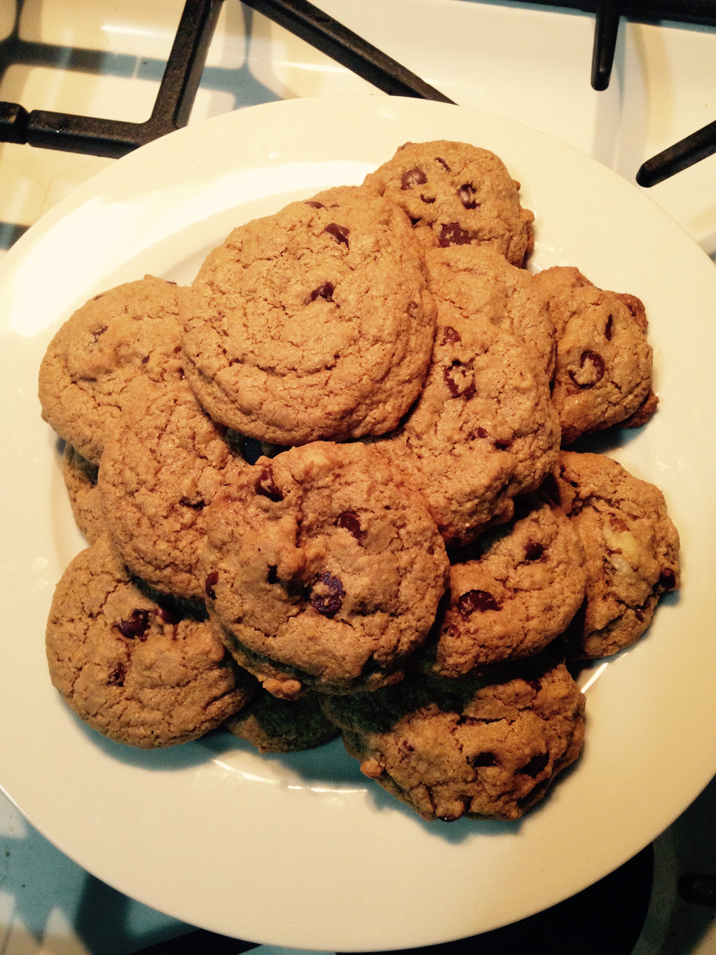 Nothing better than fresh-from-the-oven warm cookies!