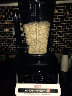 Just throw the oats in the blender and go to town!