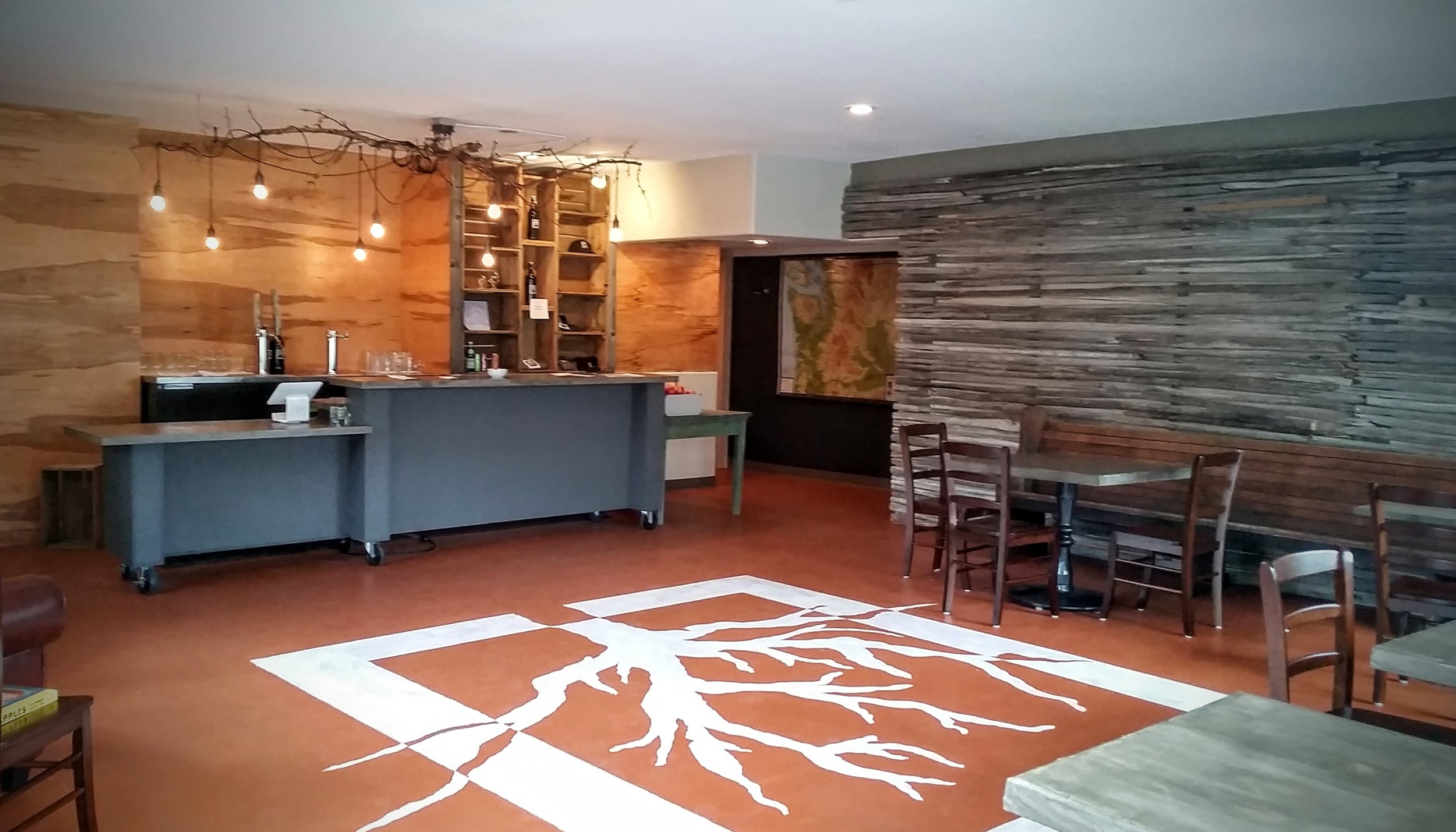 taproom on opening day