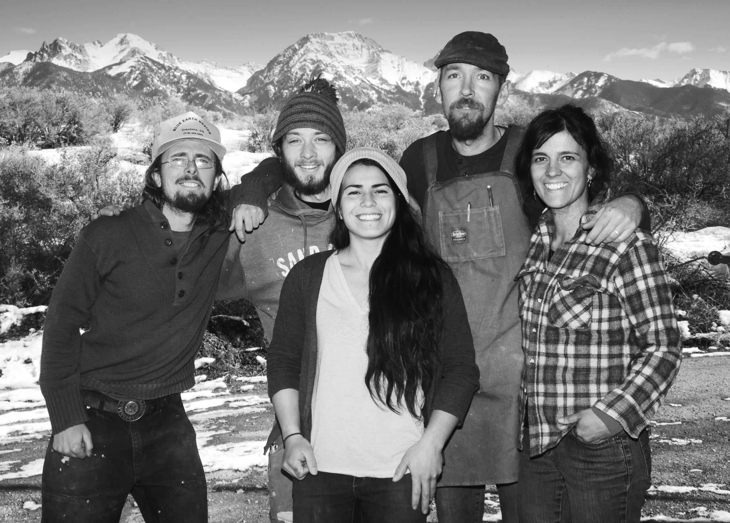 Jeff, Julian, Lily, Adam and Cristina  photo credit: Dara Blumenhein