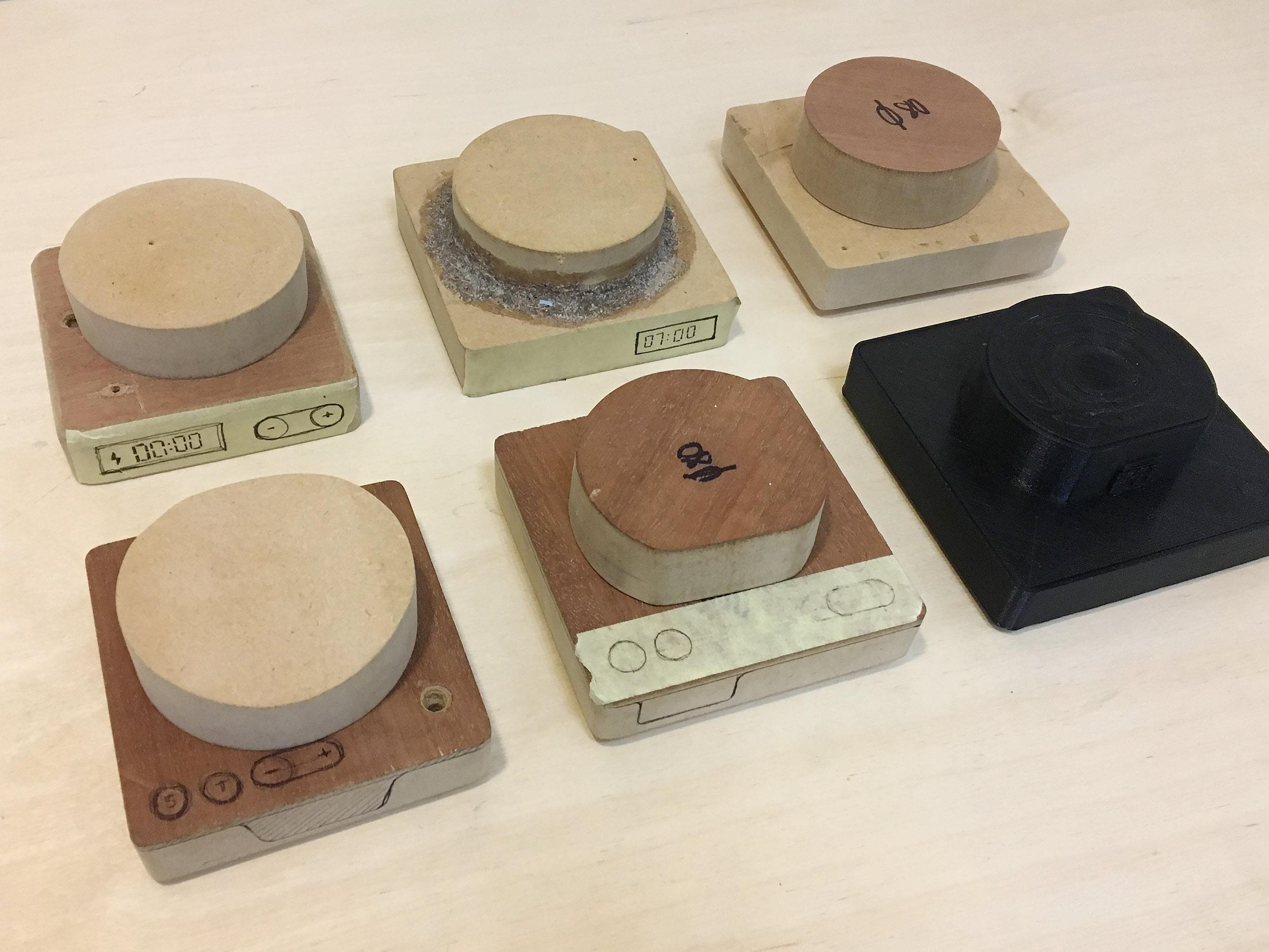 early concept models of alarmshock