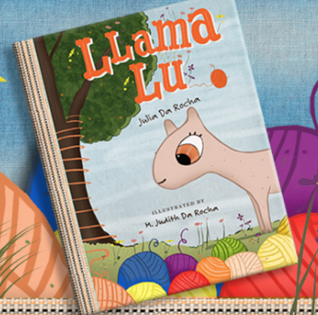 COMING APRIL, 2019  Llama Lu, as everyone in the Sanctuary liked to call her, was born with no wool. How can a llama have no wool? With winter at their doorsteps, the surprised and confused animals work together to find a way to help Llama Lu.  A bit of chaos, goodwill, and being bad at math may just be what they need to figure things out.