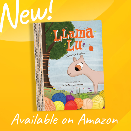 Llama Lu   Our latest children's book is now available on Amazon. Here is a cute story about how a group of animals come together to help a little llama stay warm. She happens to have been born with no wool.