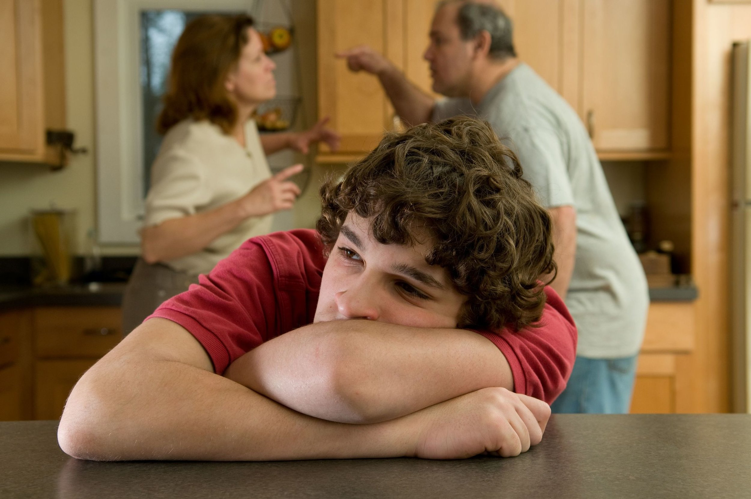 """3 Ways To Help Your Teen Cope With Divorce 