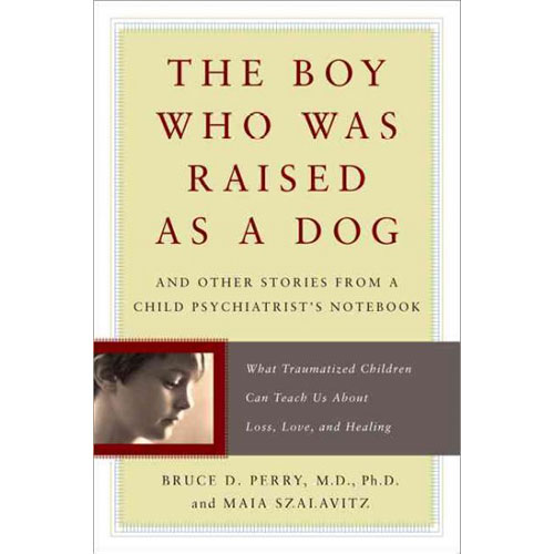 The Boy Who Was Raised as a Dog - How does trauma affect a child's mind—and how can that mind recover? In the classic The Boy Who Was Raised as a Dog, Dr. Perry explains what happens to the brains of children exposed to extreme stress and shares their lessons of courage, humanity, and hope. Only when we understand the science of the mind and the power of love and nurturing, can we hope to heal the spirit of even the most wounded child.