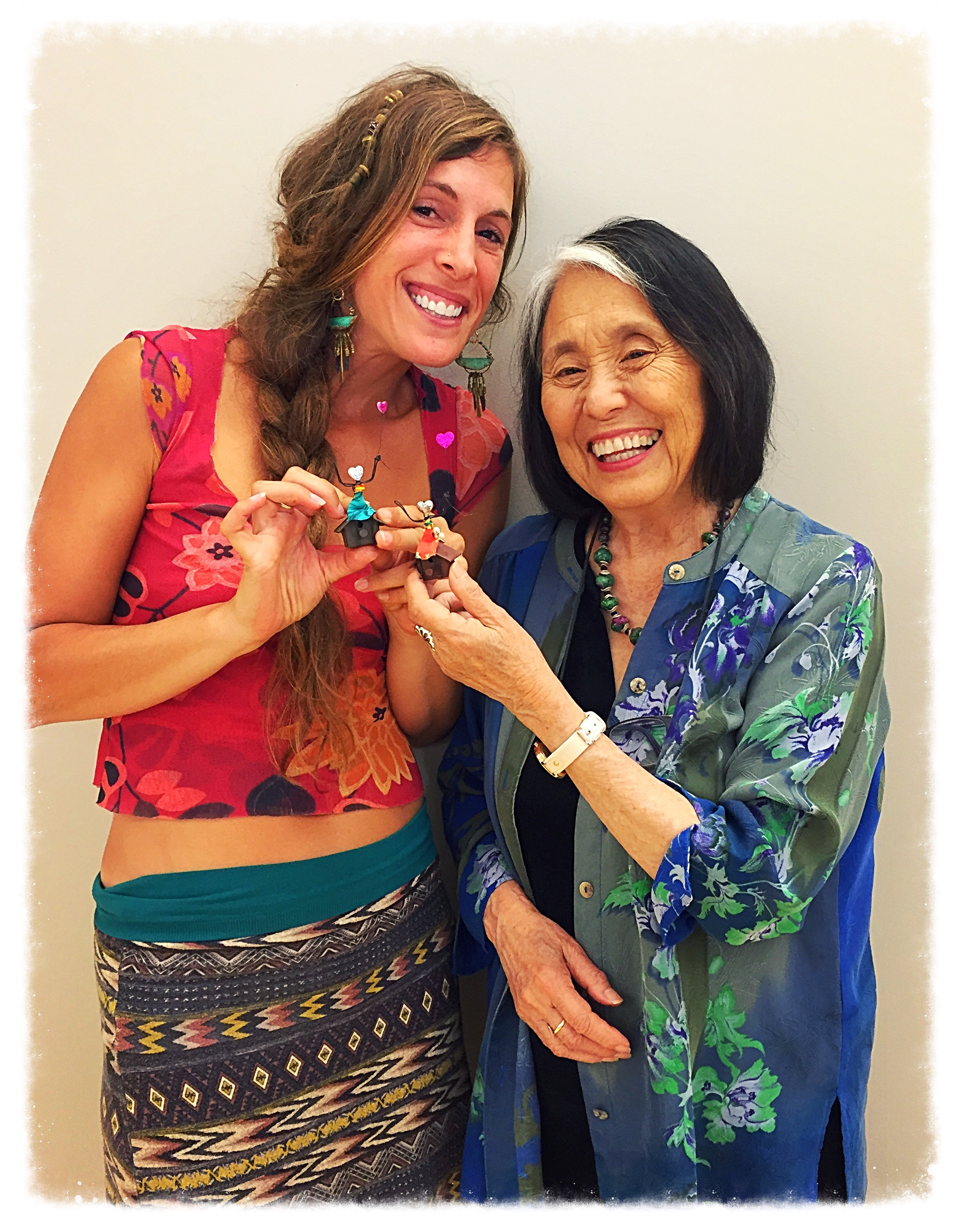 WHENEVER YOU GET THE CHANCE.... ASK ME ABOUT OR LOOK UP JEAN SHINODA BOLEN... JUNGIAN ANALYST, AUTHOR, DOCTOR, ACTIVIST AS WELL AS ..BEING ONE OF MY BIGGEST INSPIRATIONS, TEACHING ME OPEN HEARTED PERSEVERANCE WITH VISIONARY THINKING, PUTTING MY LOVE, MY MAGICAL WAY, INTO ACTION AS WE SHIFT INTO THESE NEW EXCITING TIMES!! -