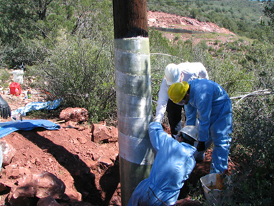 florida utility pole repair