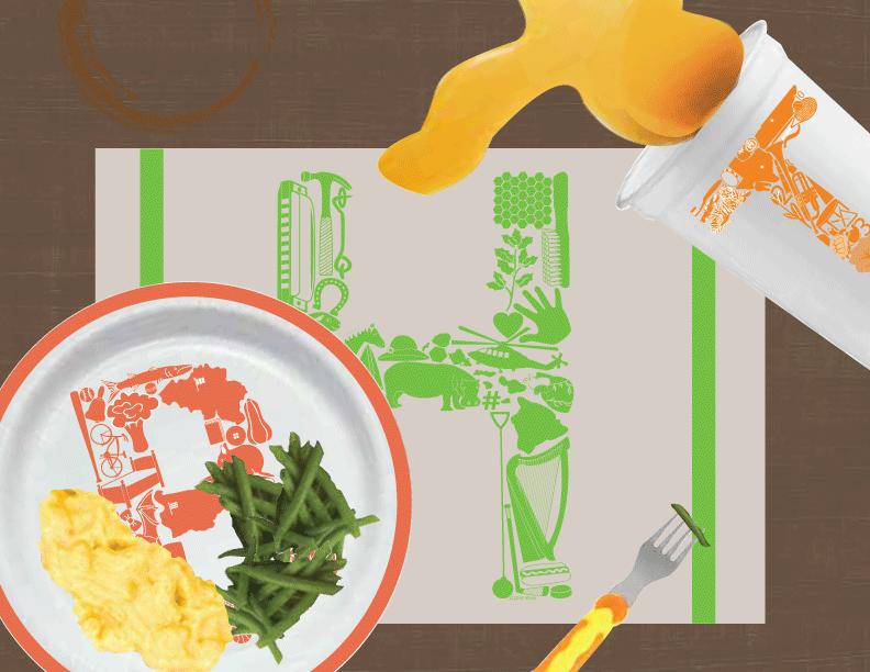 Eat Smart™ Dinnerware
