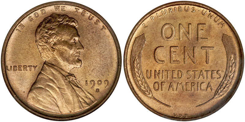A 1909 penny; the first year 16th President, Abraham Lincoln appeared on the coin. Photo courtesy of wikipedia.com.