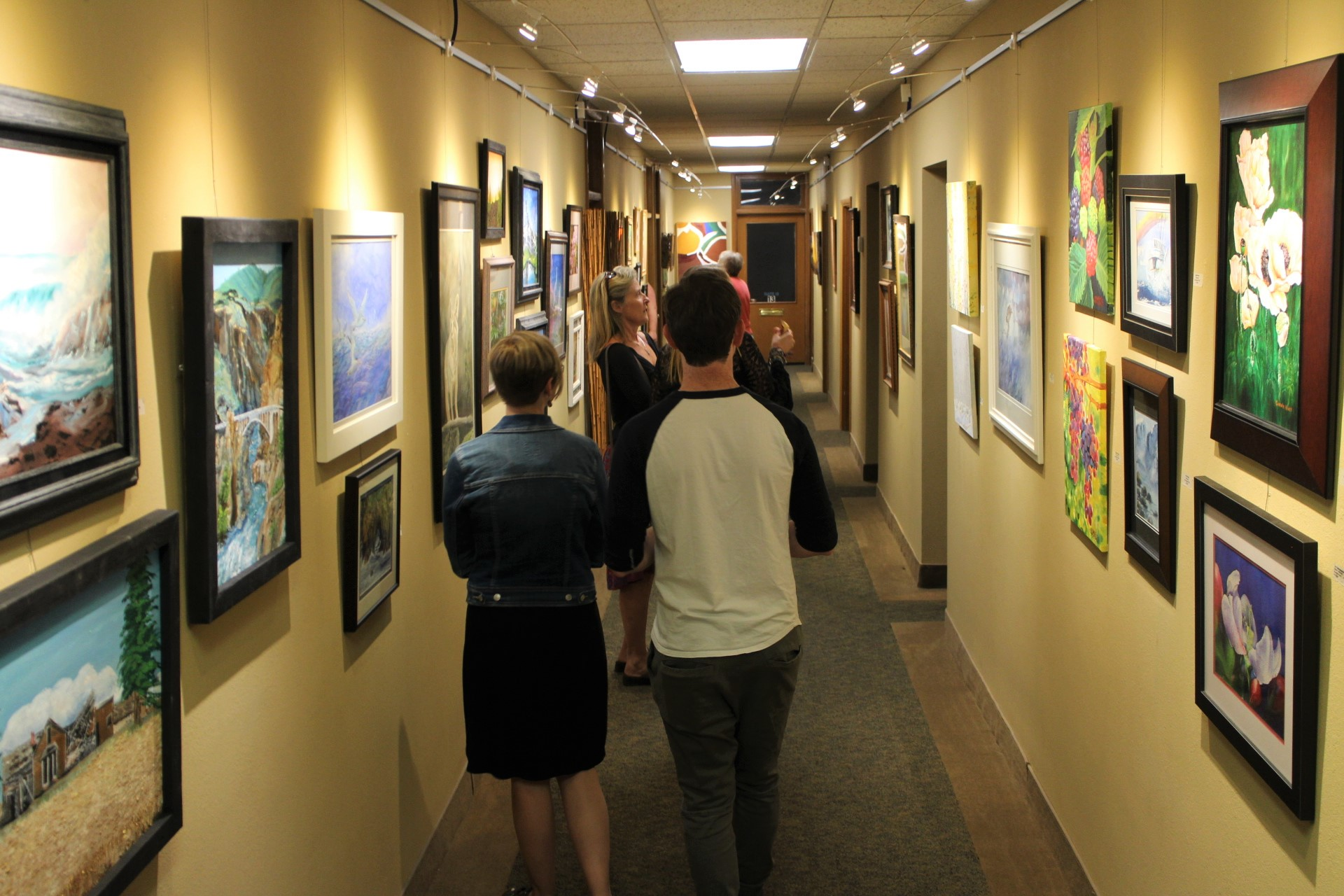 Two Rivers Gallery. Photo credit Livingncw