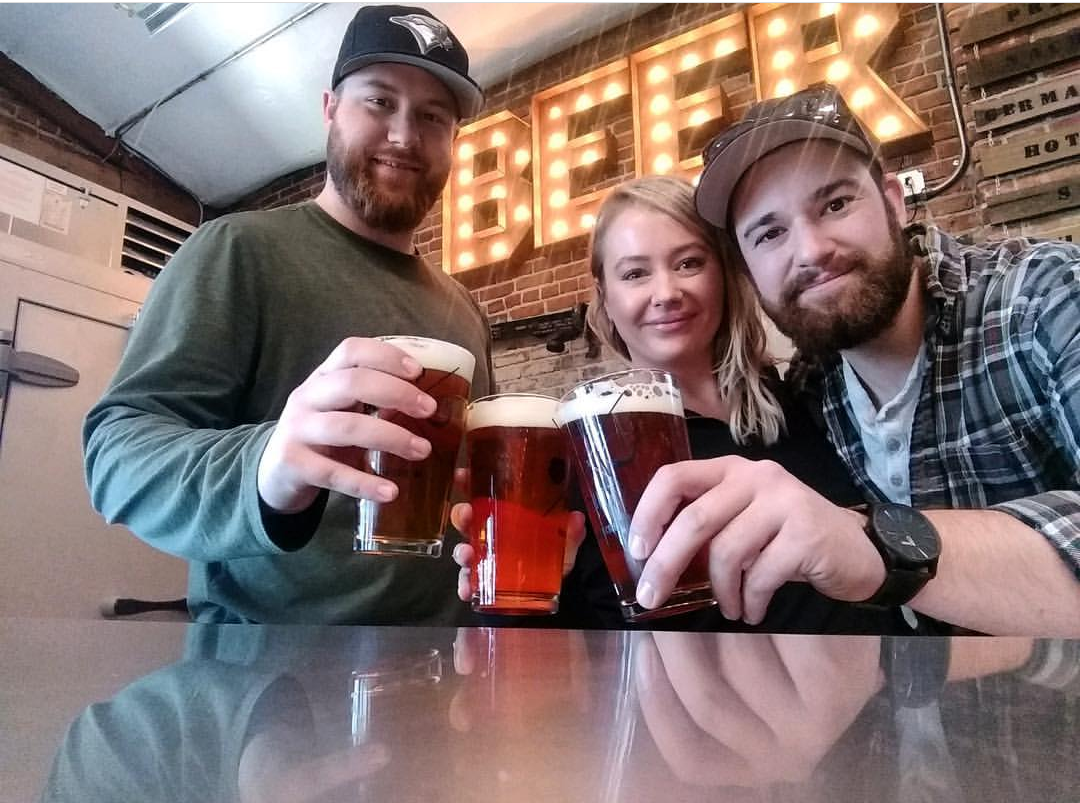Tap & Putt owners left to right: Jackson Cochran, Stephanie Stone, and Dylan Buttolph (photo credit Tap & Putt)