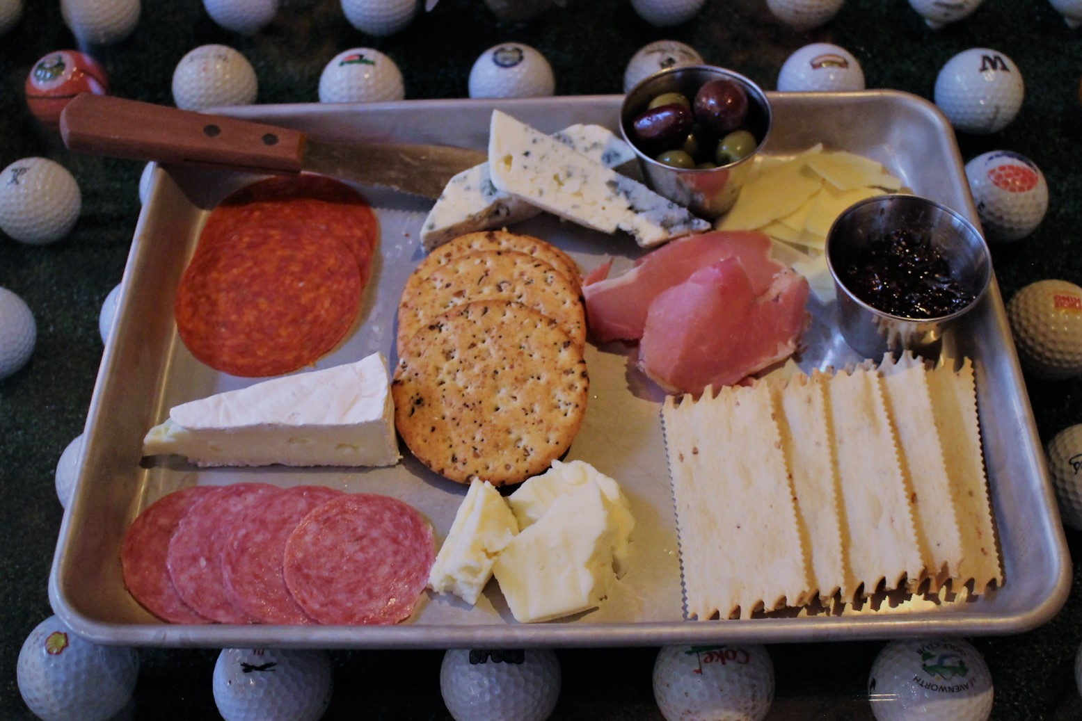 Charcuterie Platter is a good choice for everyone to nibble.