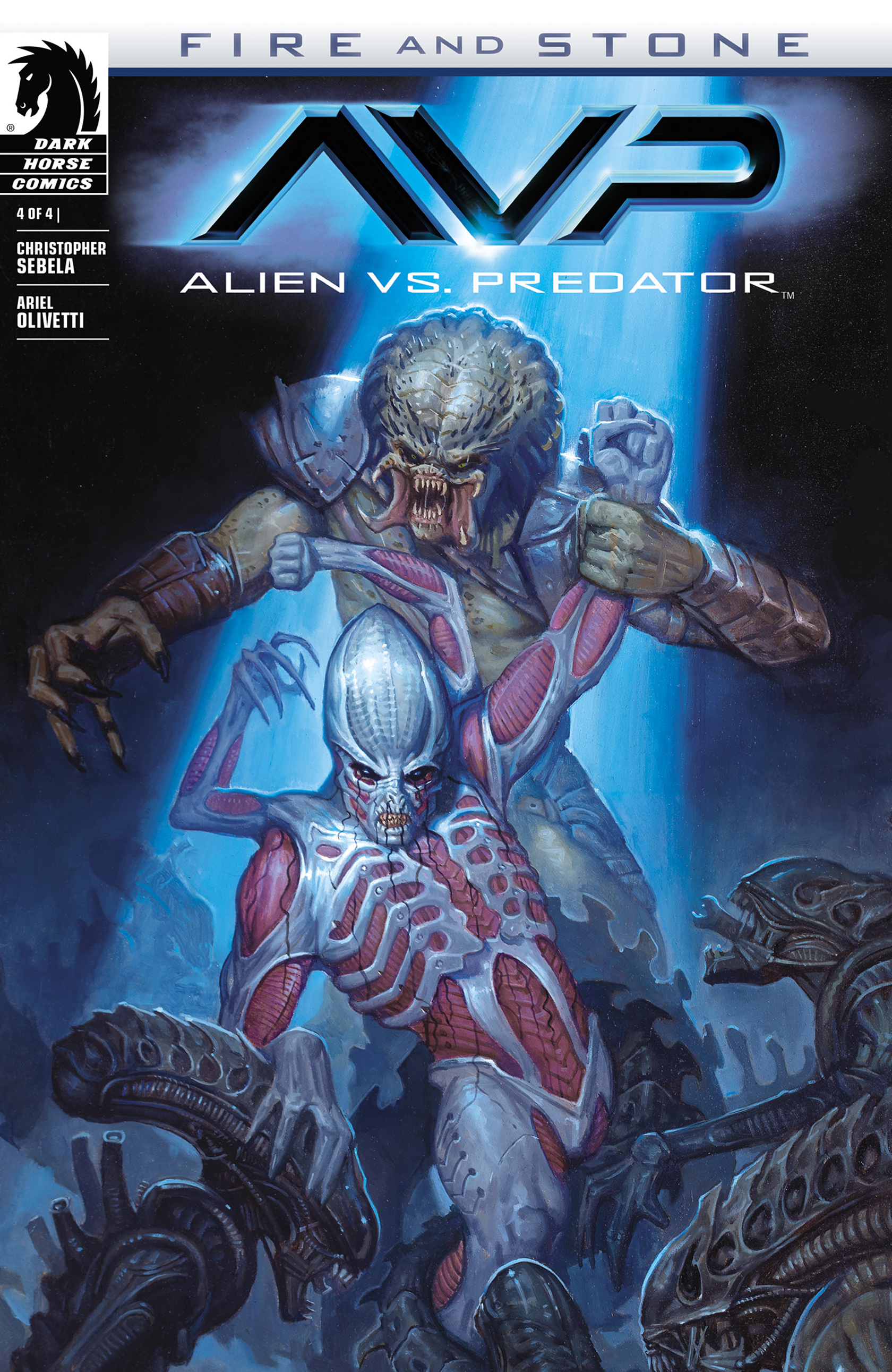ALIEN VS. PREDATOR: FIRE & STONE #4