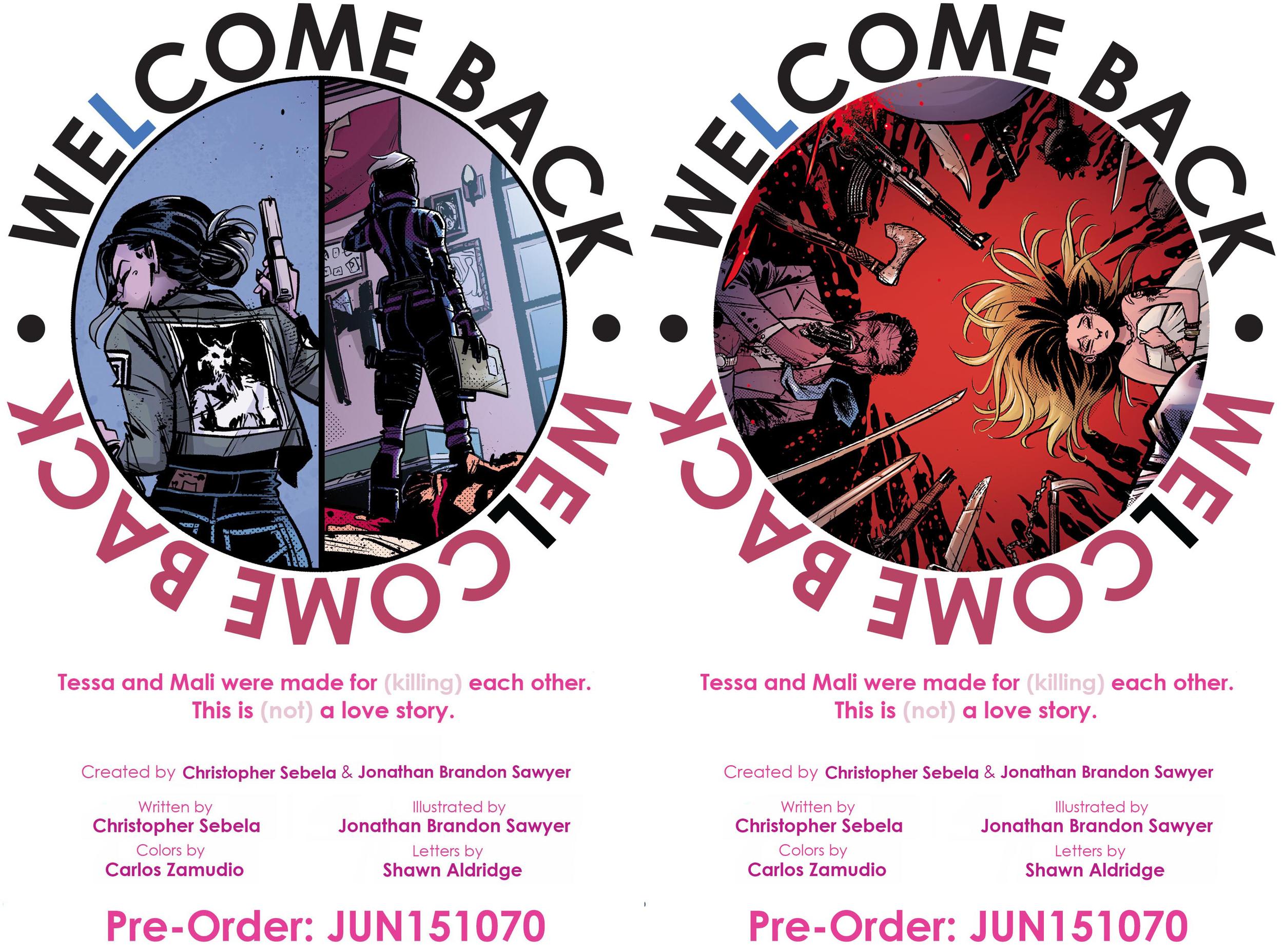 WE(L)COME BACK pre-orders