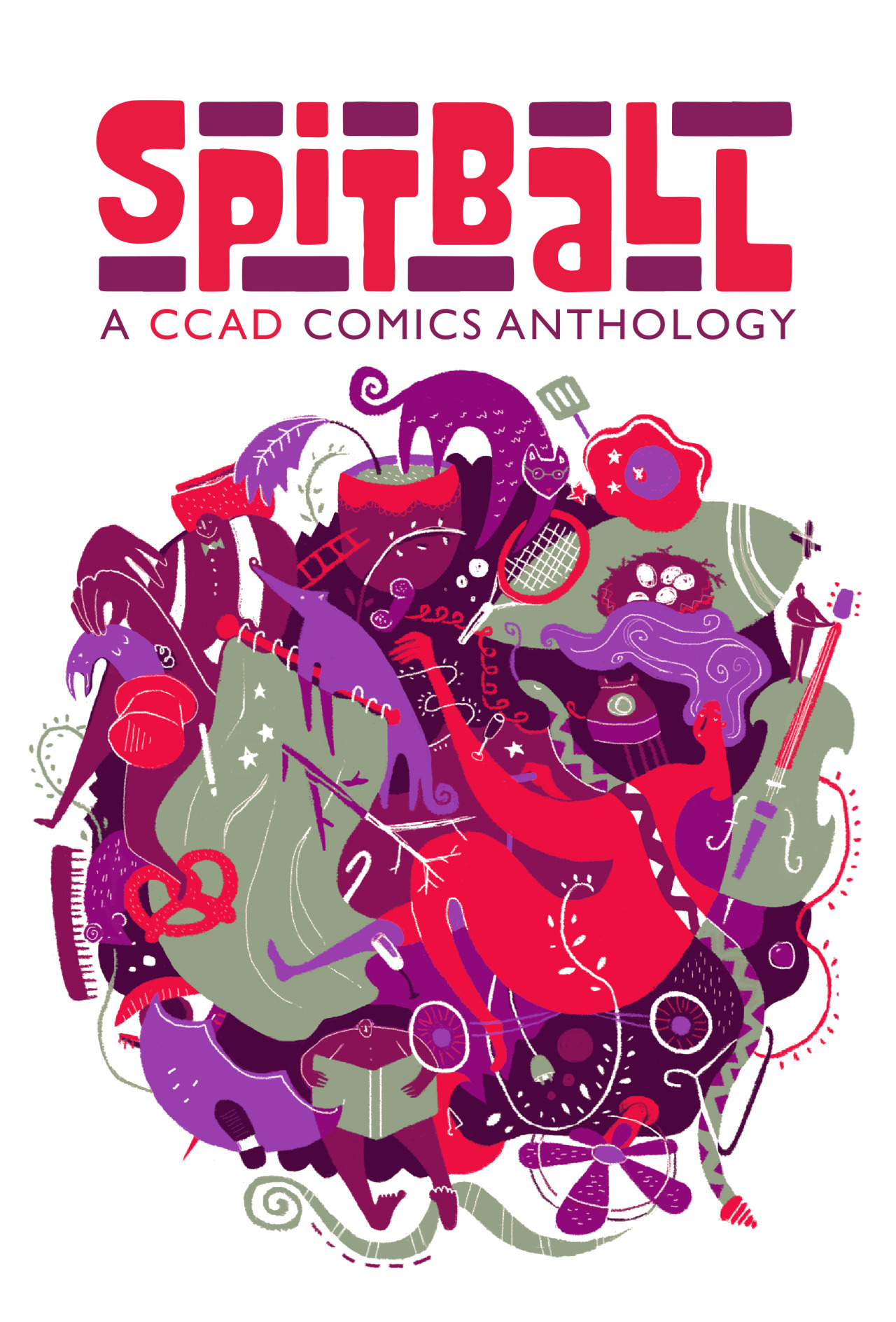 Spitball: A CCAD Comics Anthology