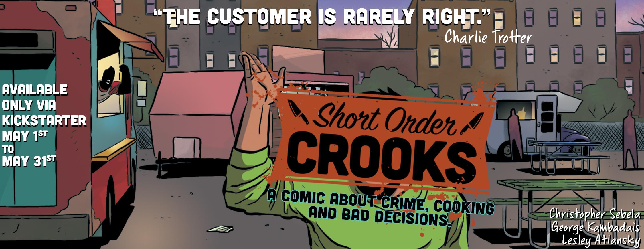 Short Order Crooks teaser F