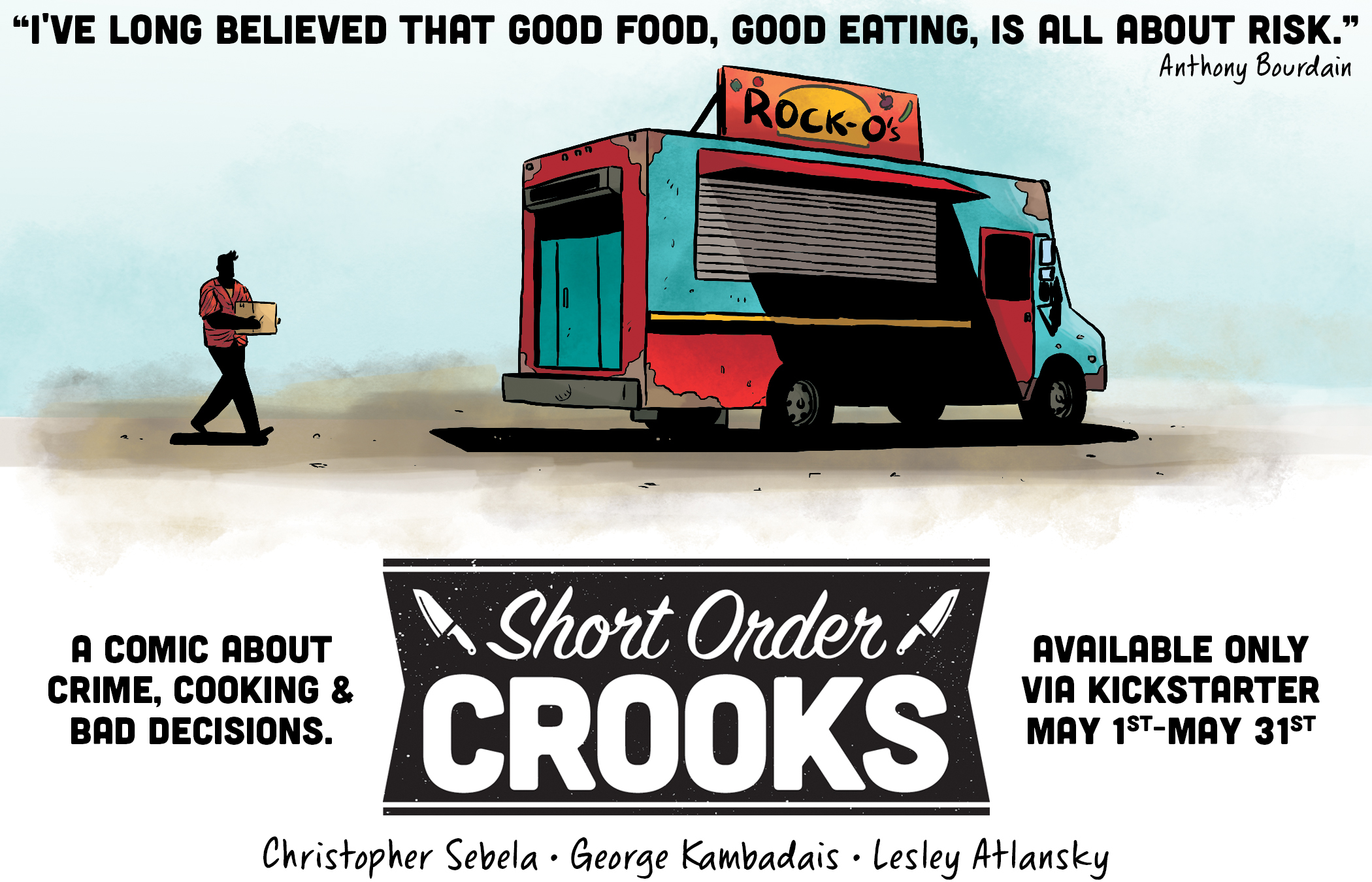 Short Order Crooks teaser A