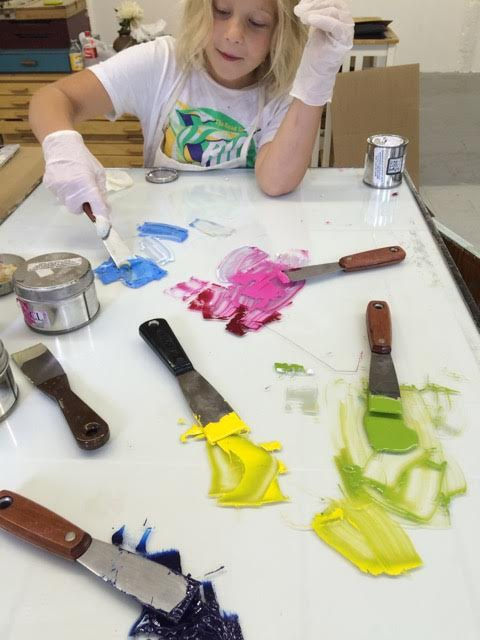 My daughter mixing ink.jpg