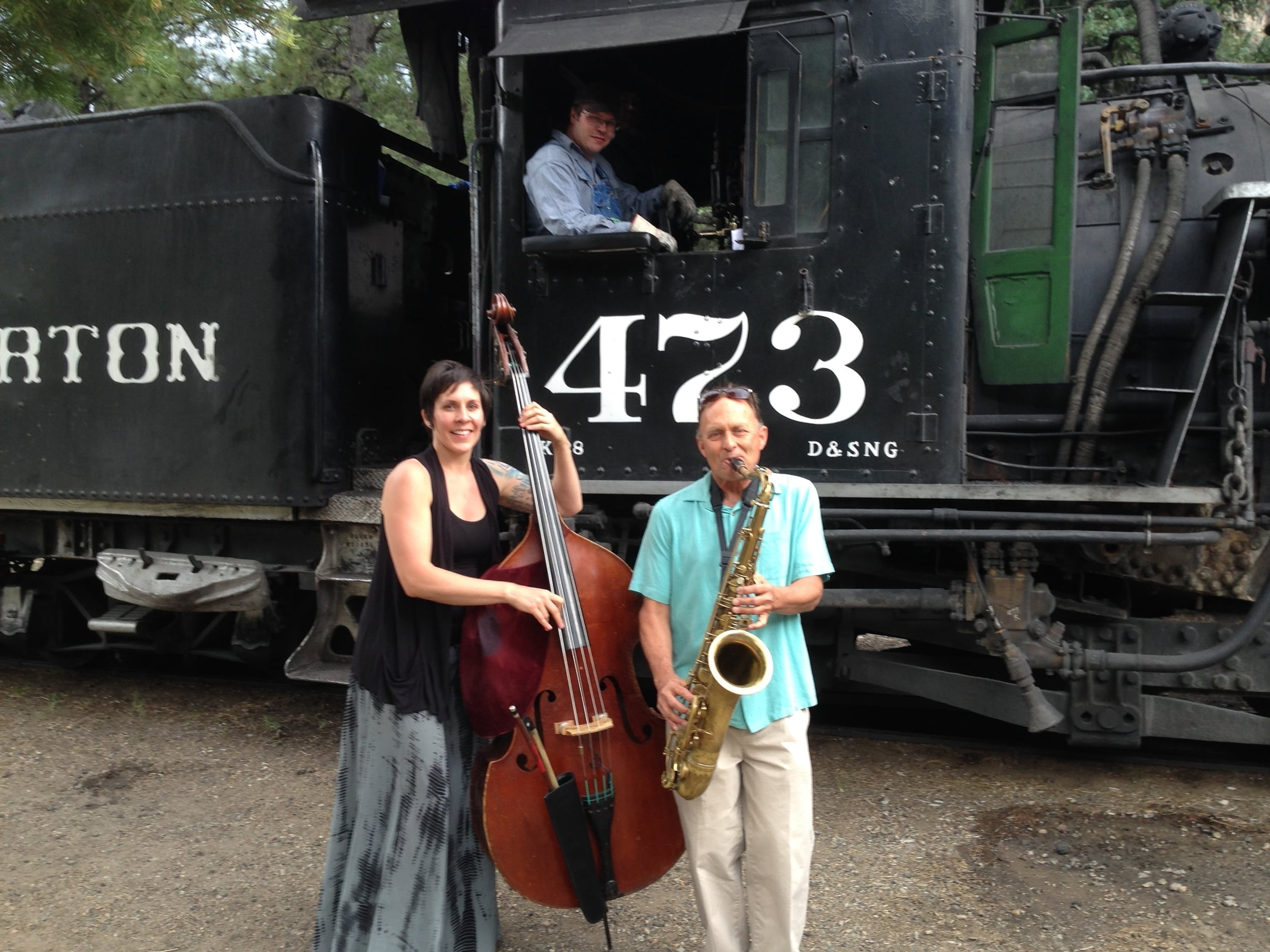 """Jeff, Elle, and the """" 473"""""""