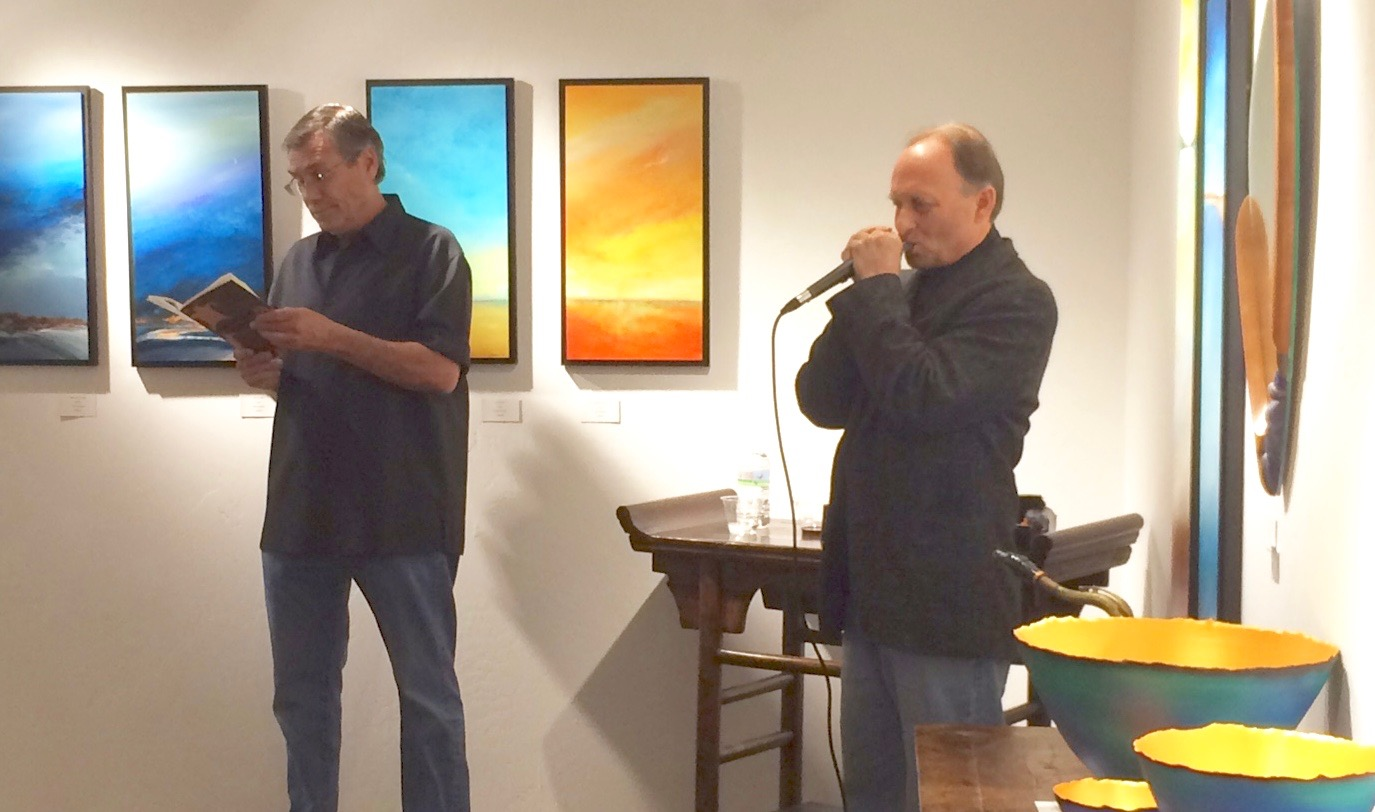 Poetry Reading with Fred Wildfang for Joel Jones