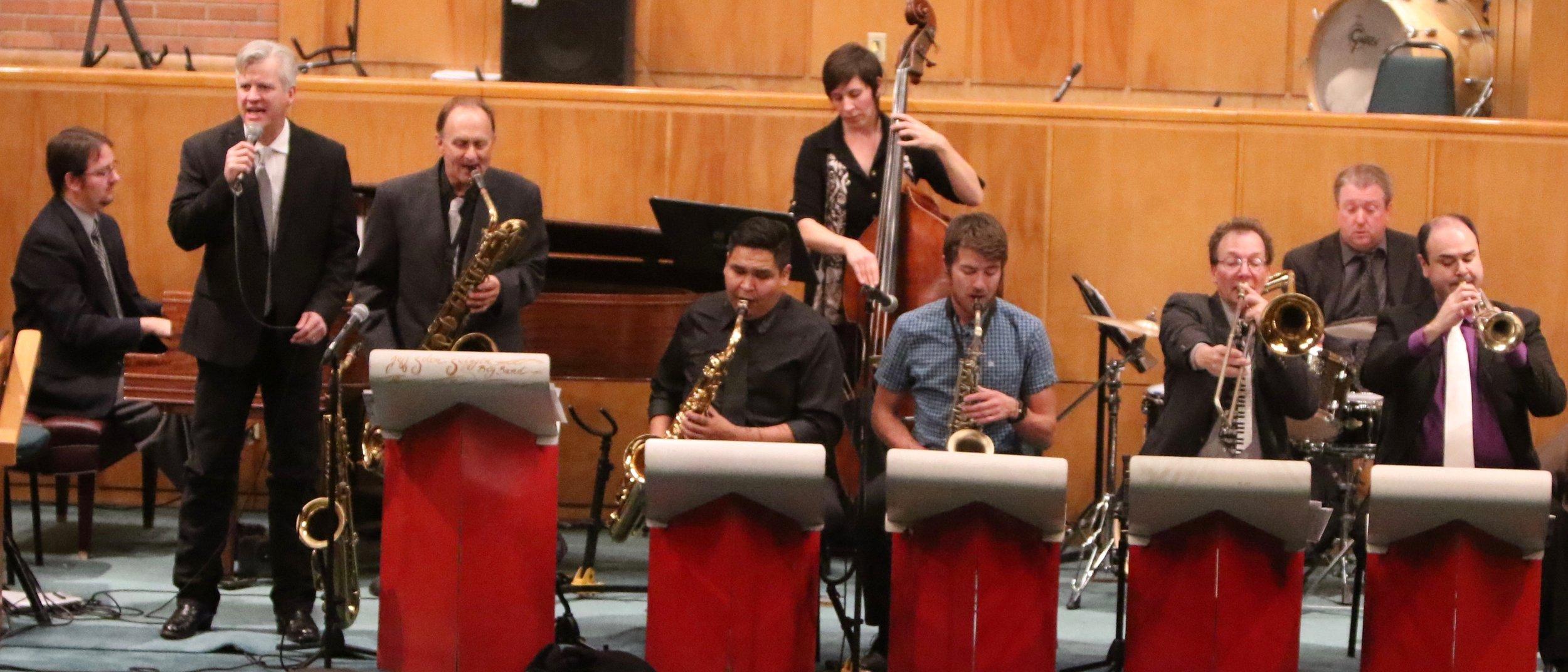 The Swing'n Big Band Photo By Rick Greenaker