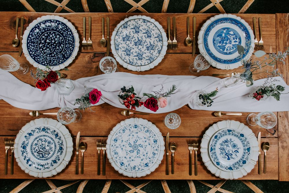 Spain Inspiration Tablescape