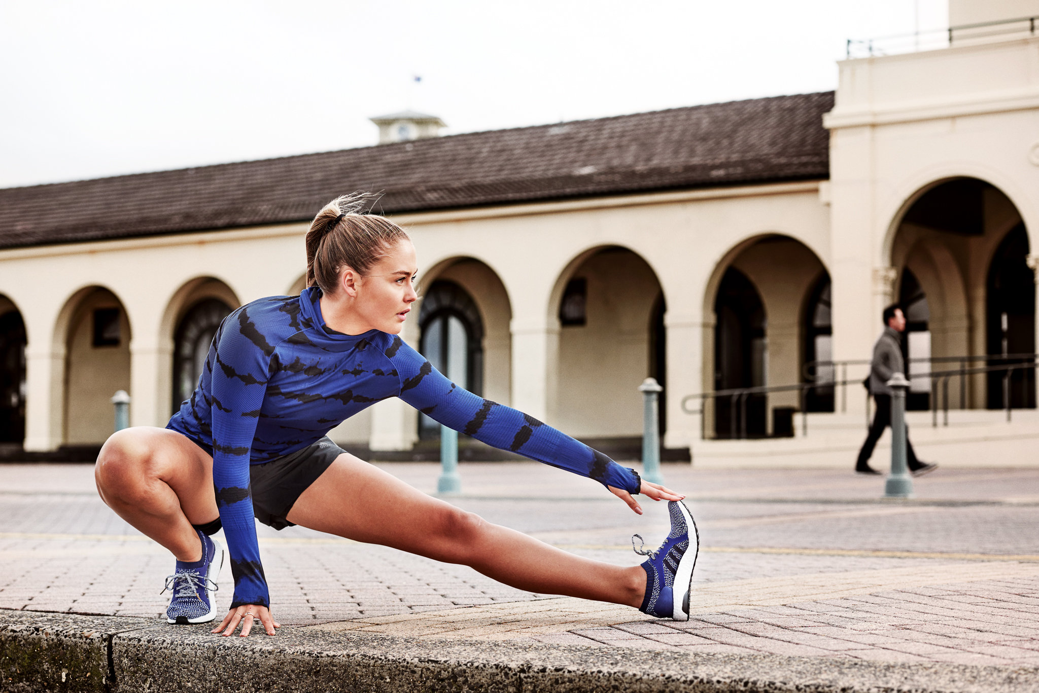 Steph Claire Smith in Bondi, for Adidas Australia.