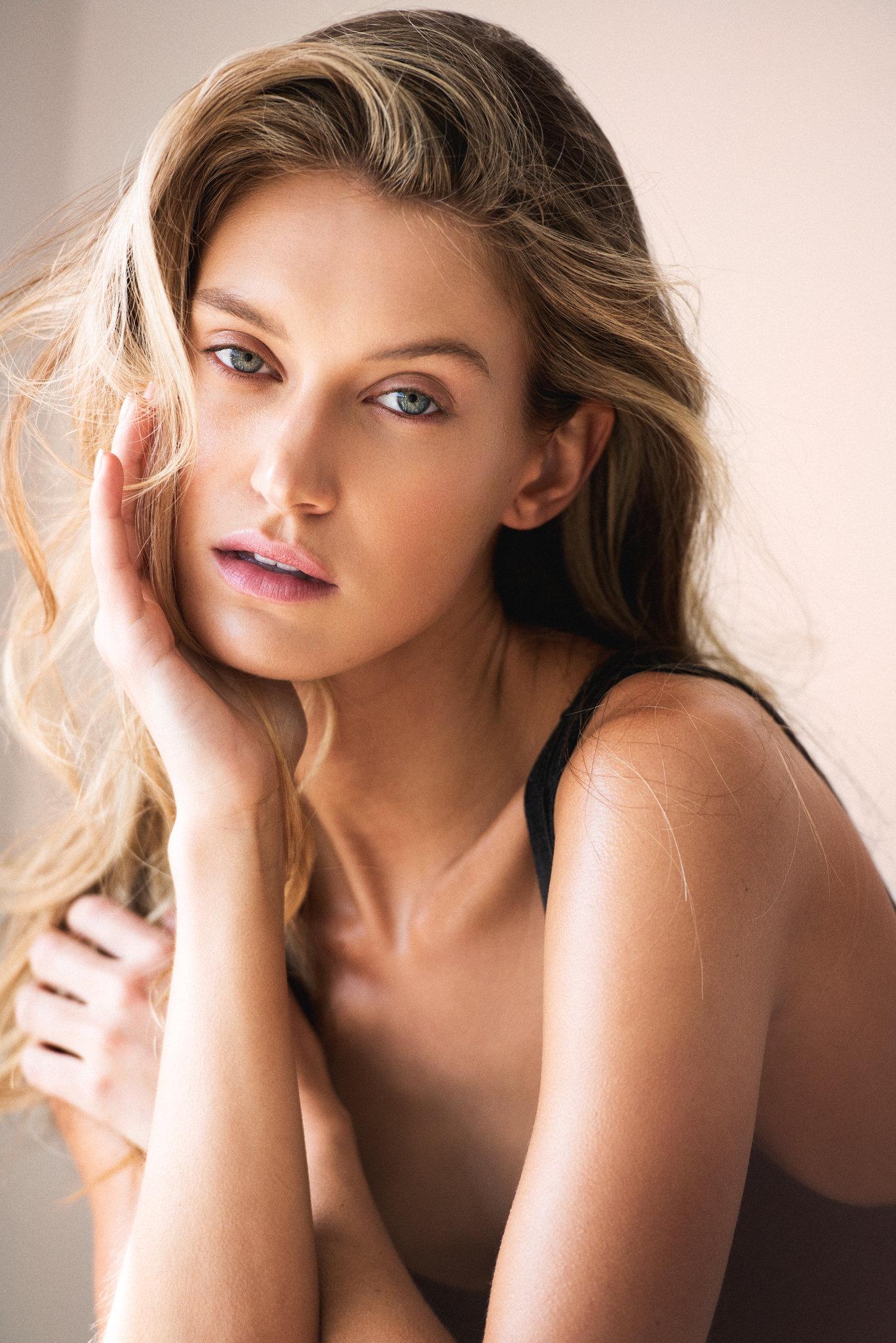 Caroline - Caroline Lowe @carolinelowe IMG Models , Photographs: Dave Blake @daveblakephoto. Hair-Makeup: Simone Forte; Location: Sydney, Australia