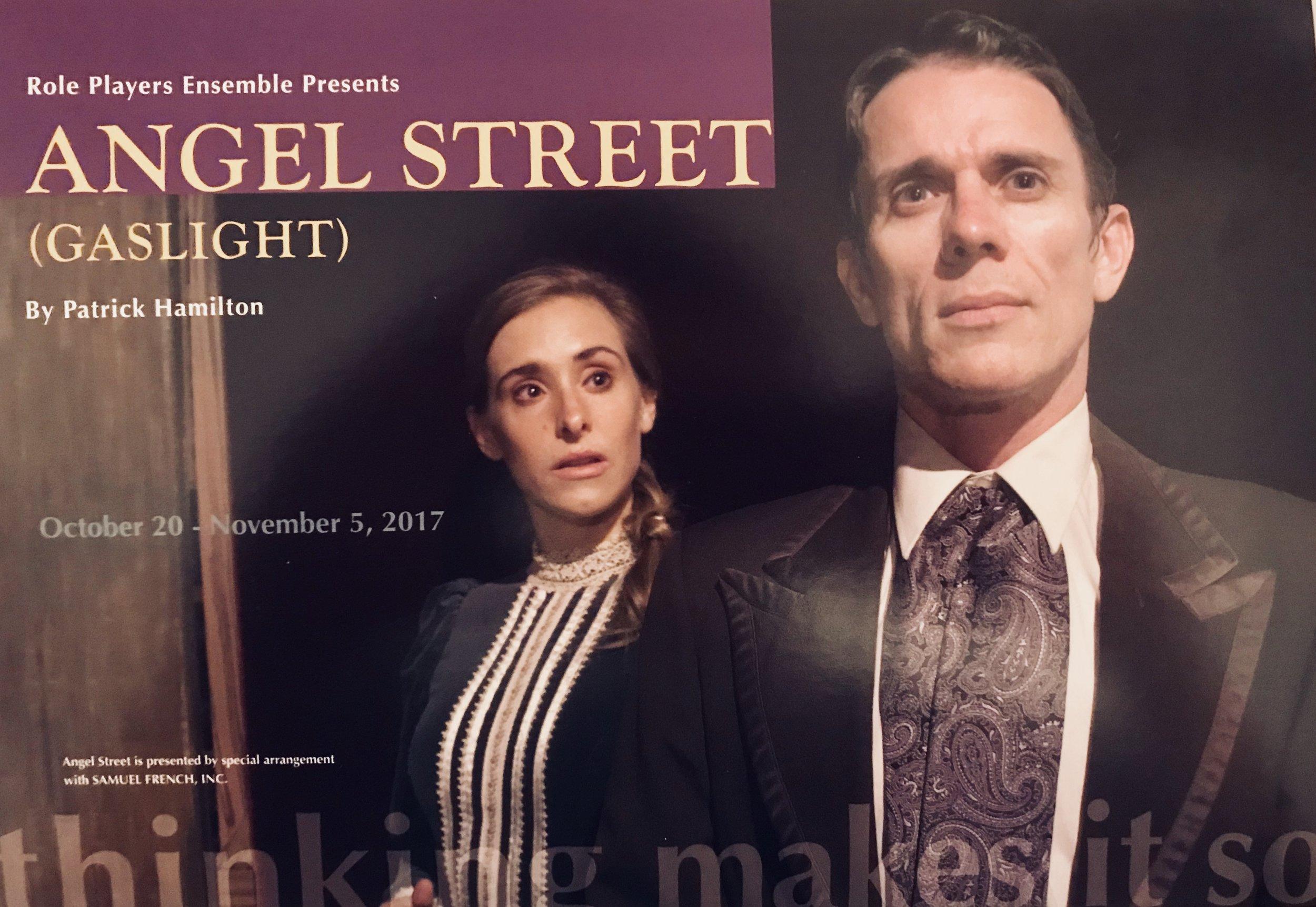 Angel Street (Gaslight) Postcard Cover