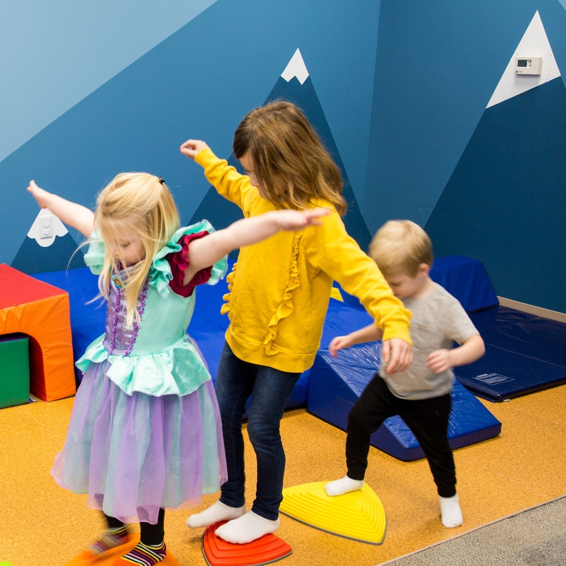 Play - Staff-supervised, parent-supervised, and drop-off play options! We promise they won't want to leave.