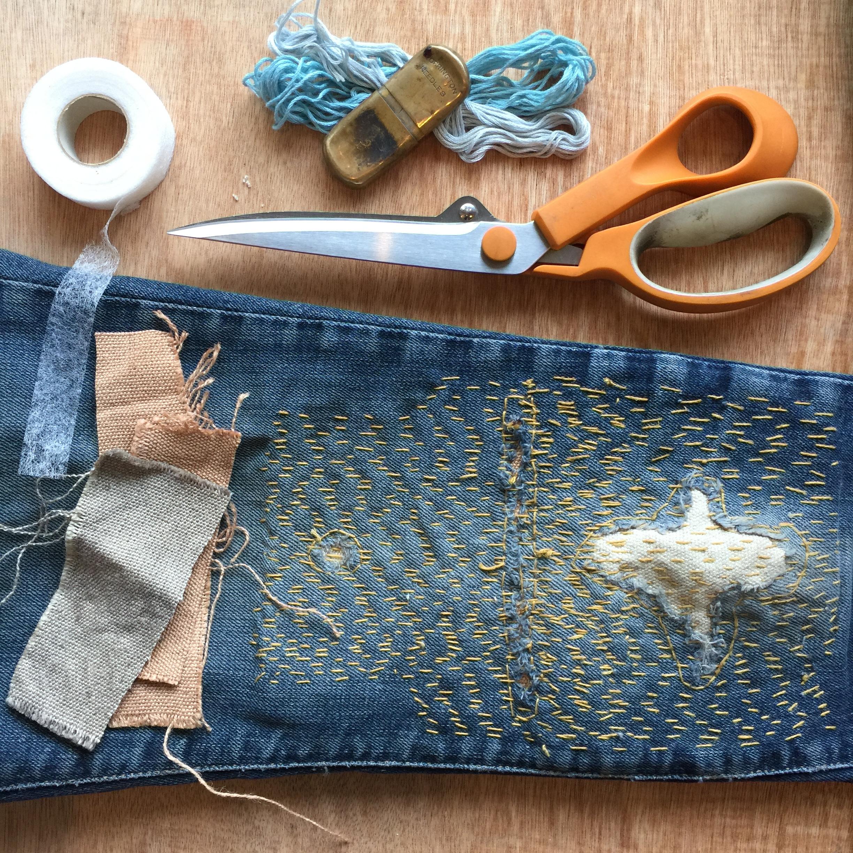 Sashiko Patching Workshop