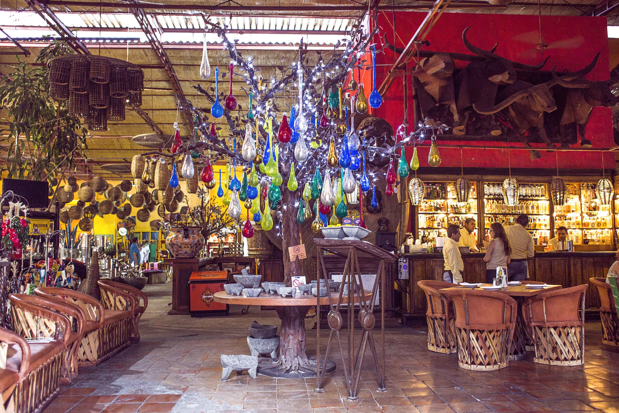 Day 68 - Tlaquepaque, Jalisco, Mexico   Next to Guadalajara is Tlaquepaque known for its art, pottery and glass. Adorable stores are everywhere so shoppers beware, you will leave needing a second suitcase to take back home.