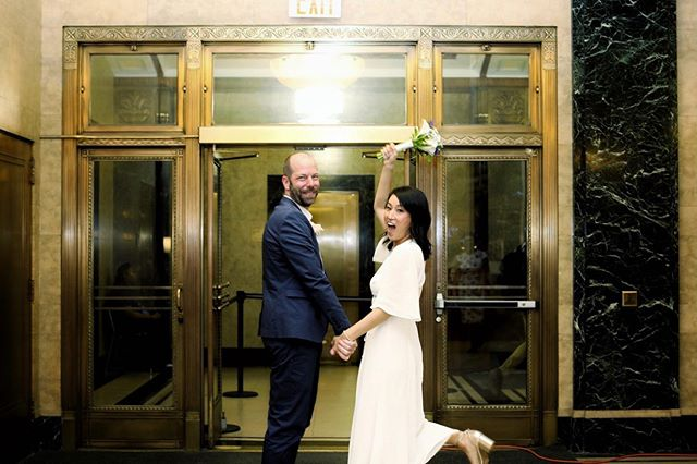 I'm so happy to witness my very good friend find her partner in life and be part of this very special day. I can't wait to see where her life takes her! #wedding #bestfriend #newyork #cityhall #tyingtheknot #canon #weddingphotography #lifestylephotography #bliss