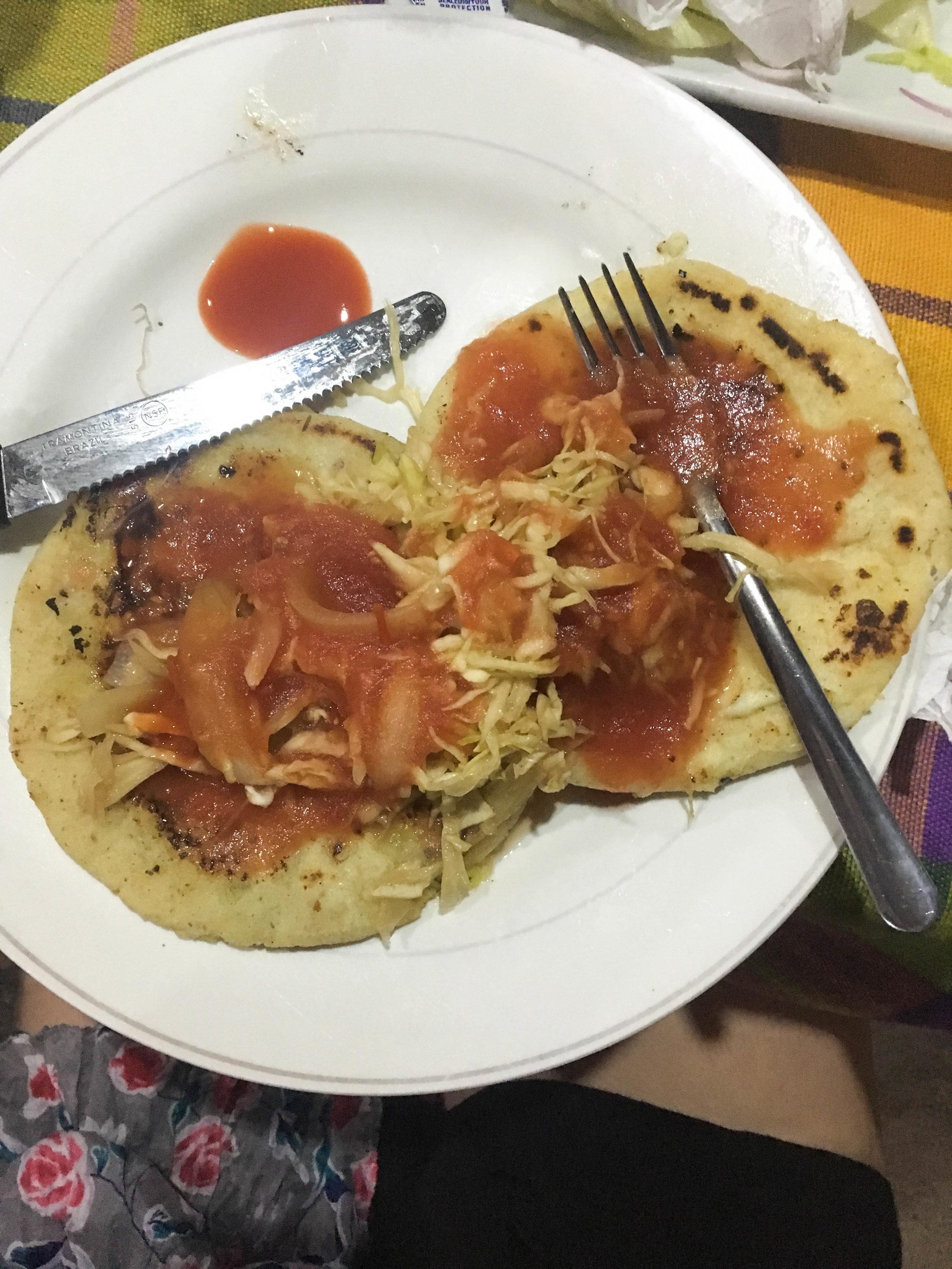 Pupusa - El Salvador's most notable dish