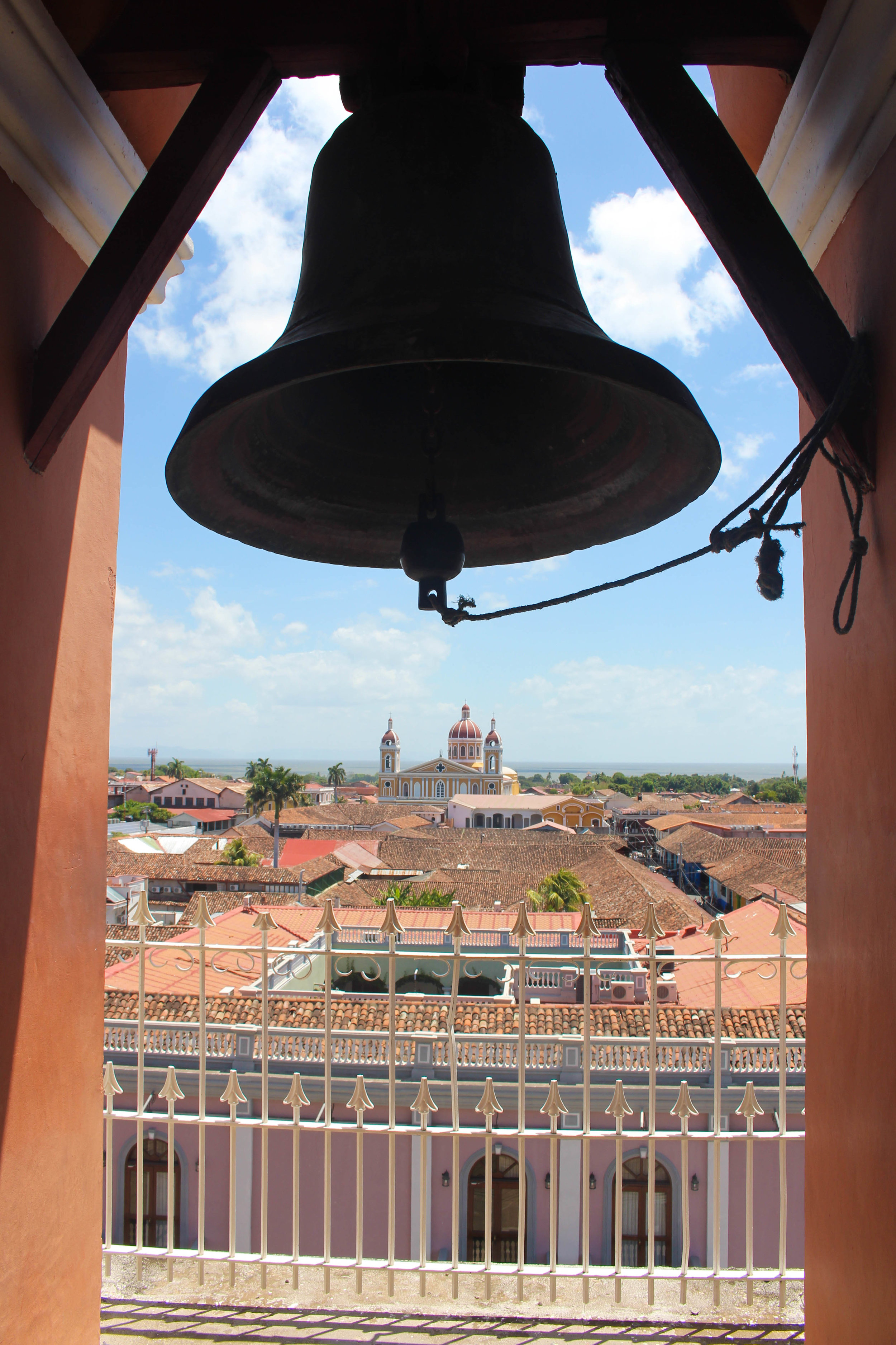 View from Grenada's bell tower