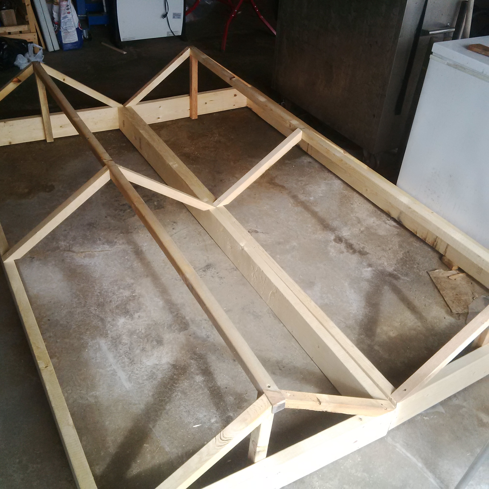 2 field frames, not yet completed.