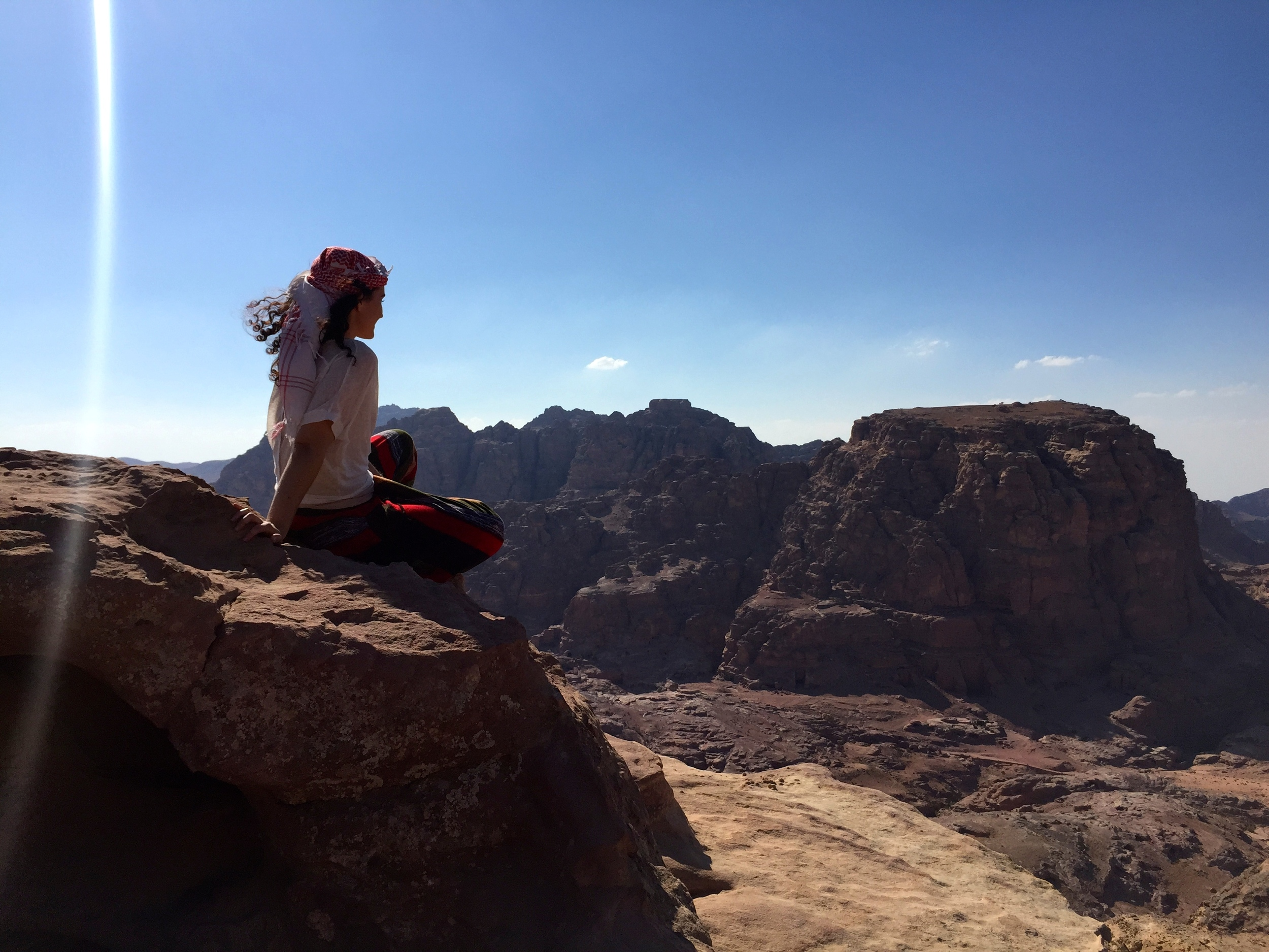 Just one of the many amazing views in Petra