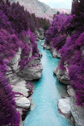 You carve the riverbed, and you are the water flowing through it.
