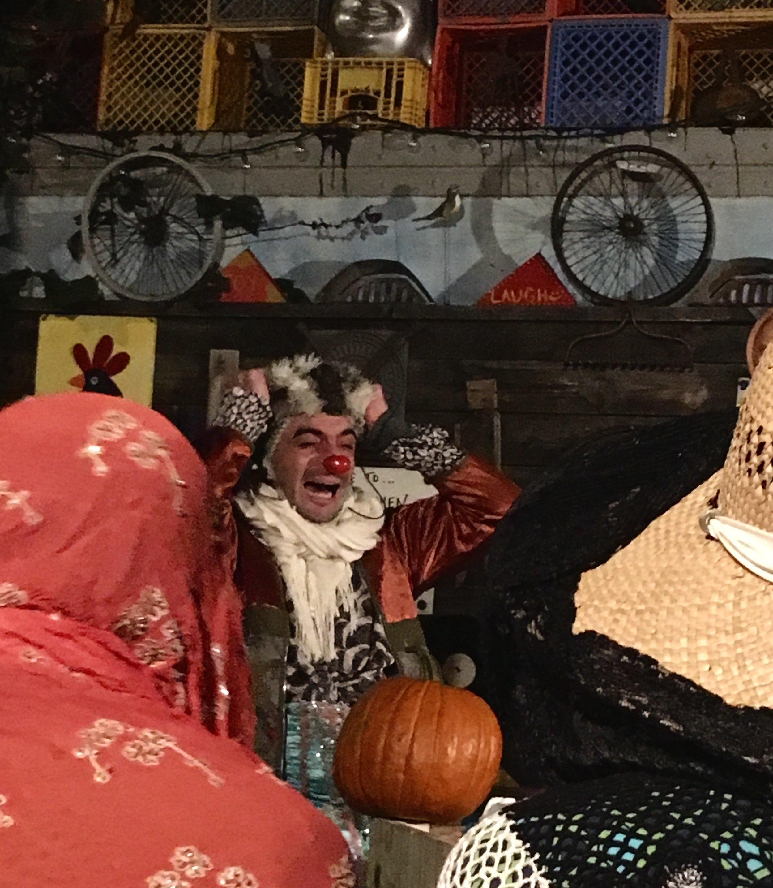 Sneff in pumpkin distress