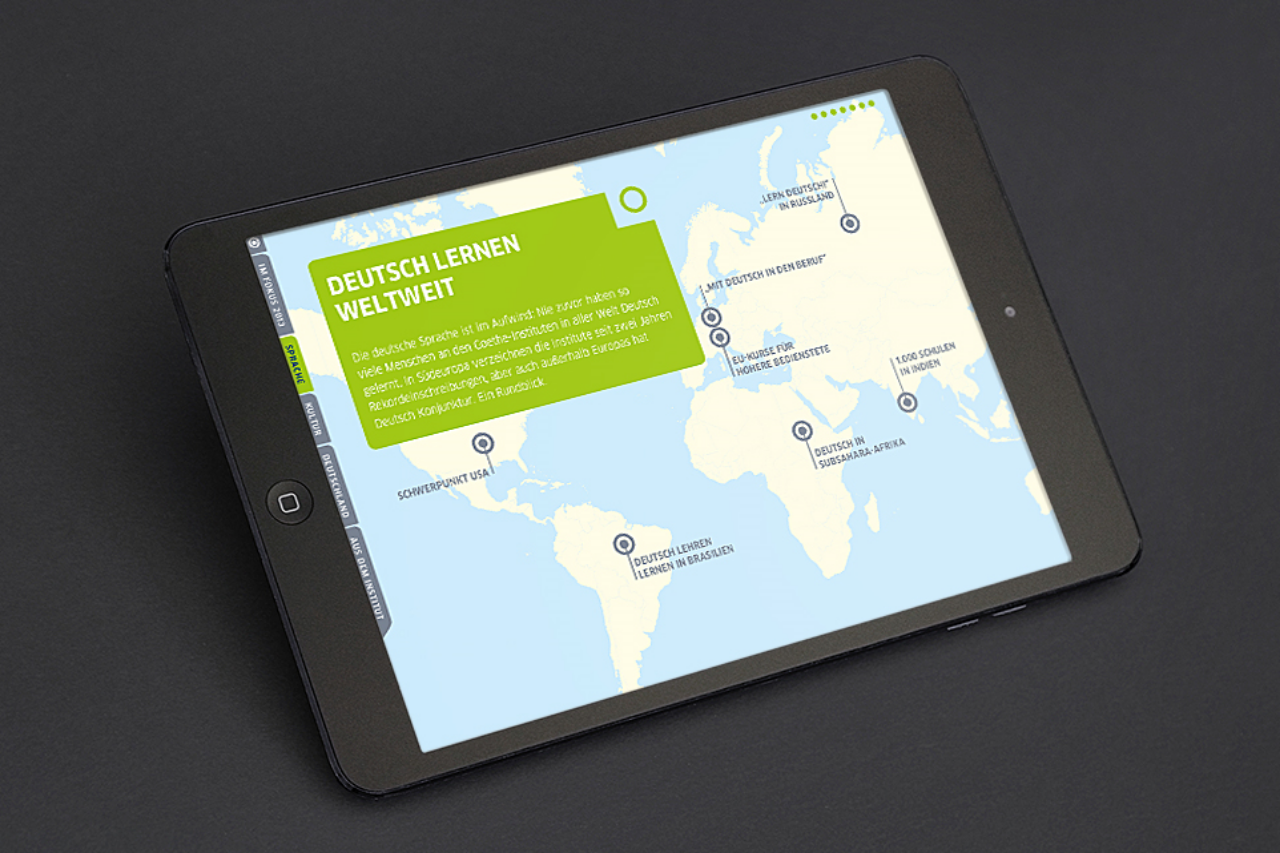 Goethe Institut Jahrbuch - interaktiv