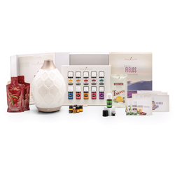 Premium Starer Kit:  A diffuser of your choice, Lavender, Frankincense, Stress Away, Citrus Fresh, Peppermint, Thieves, Copaiba, Lemon, Panaway, RC, Raven