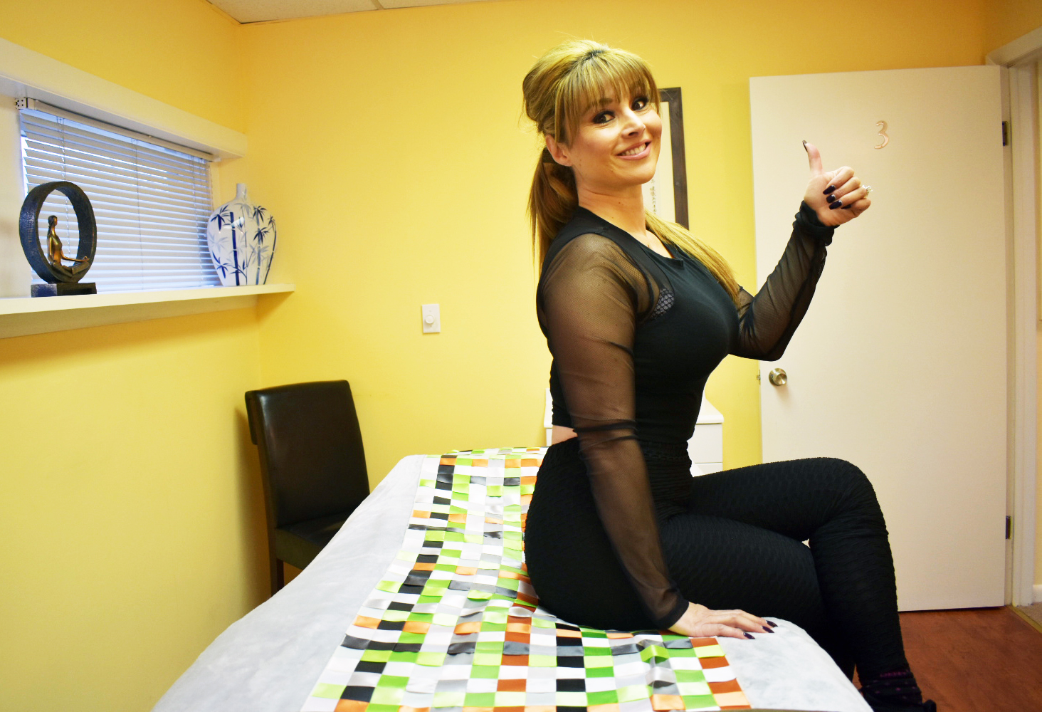 Fitness Professional Gloria Gomez Proper Posture By Walgreens at 45 South Ave East Cranford at Hayk Zar LMT Clinical and Medical Massage Therapy and Qigong Somatics in Cranford and Westfield NJ Back Pain Neck Pain Injury Stress Anxiety Depression.jpg