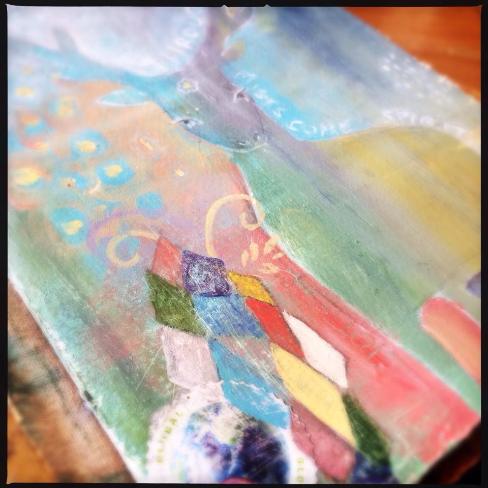 Deer Spirit, travel journal, - Galia Alena