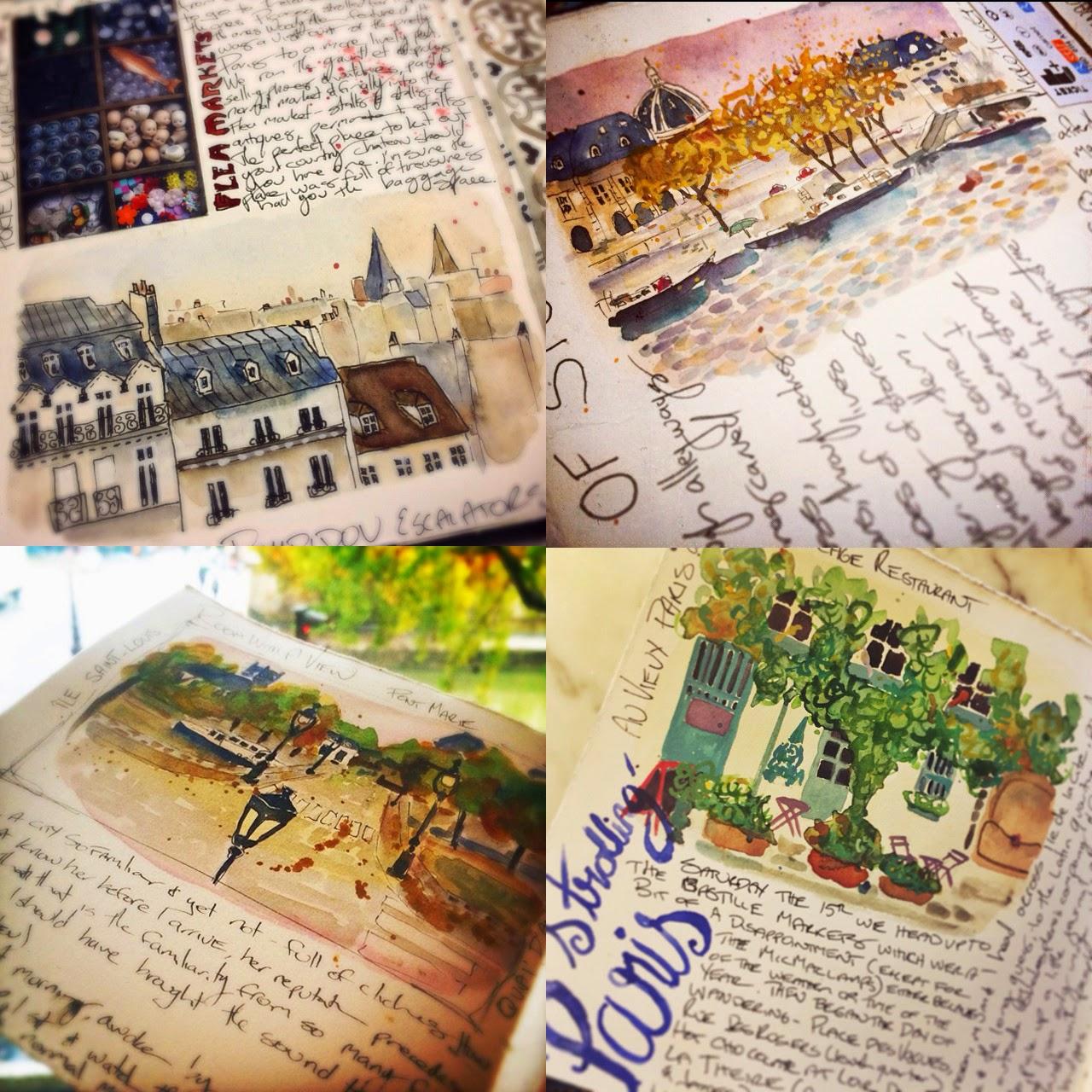 Paris Travel Journal - Galia Alena
