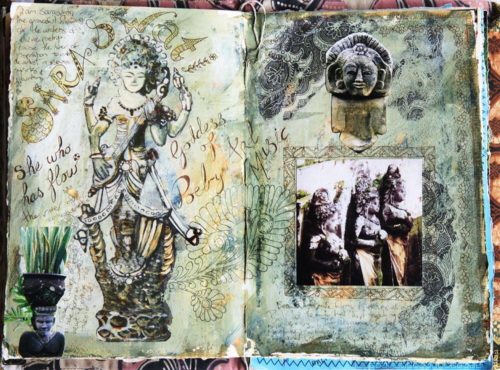 Sarasvati- travel journal Bali - Galia Alena