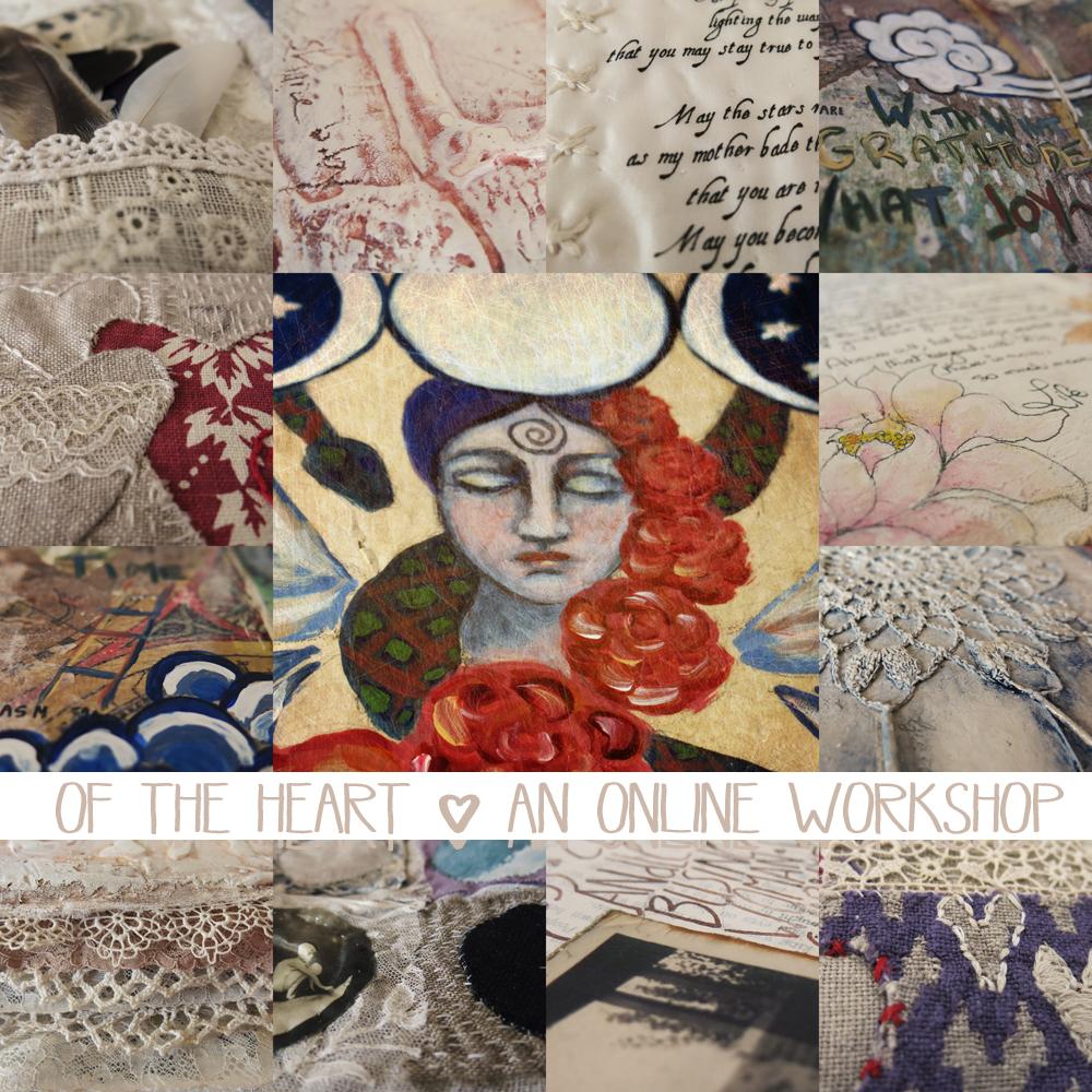 Of the Heart online art workshop