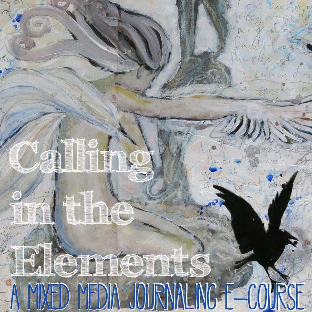 mixed media art journaling e-course