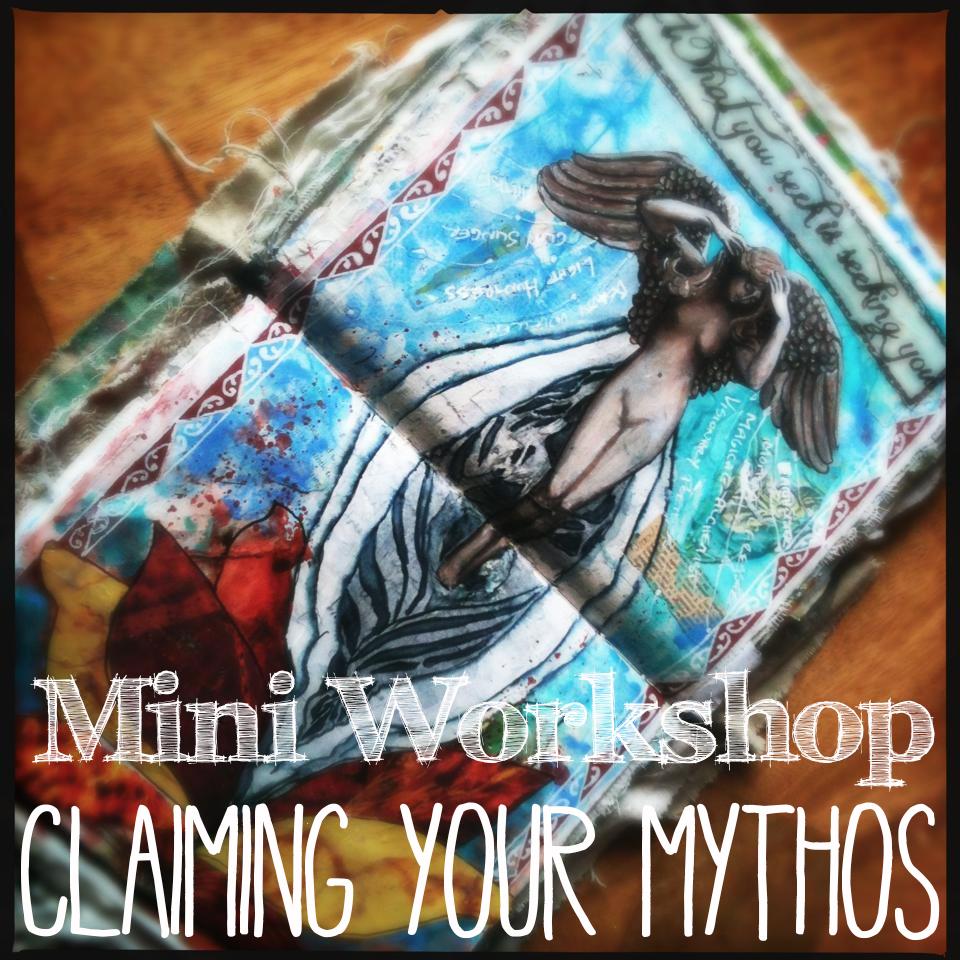 Mythos art journaling workshop