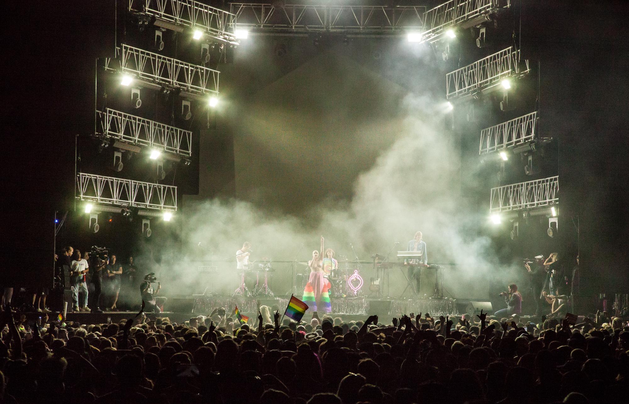 Tove Lo at LA Pride 2018. Photo by Kat Kaye.
