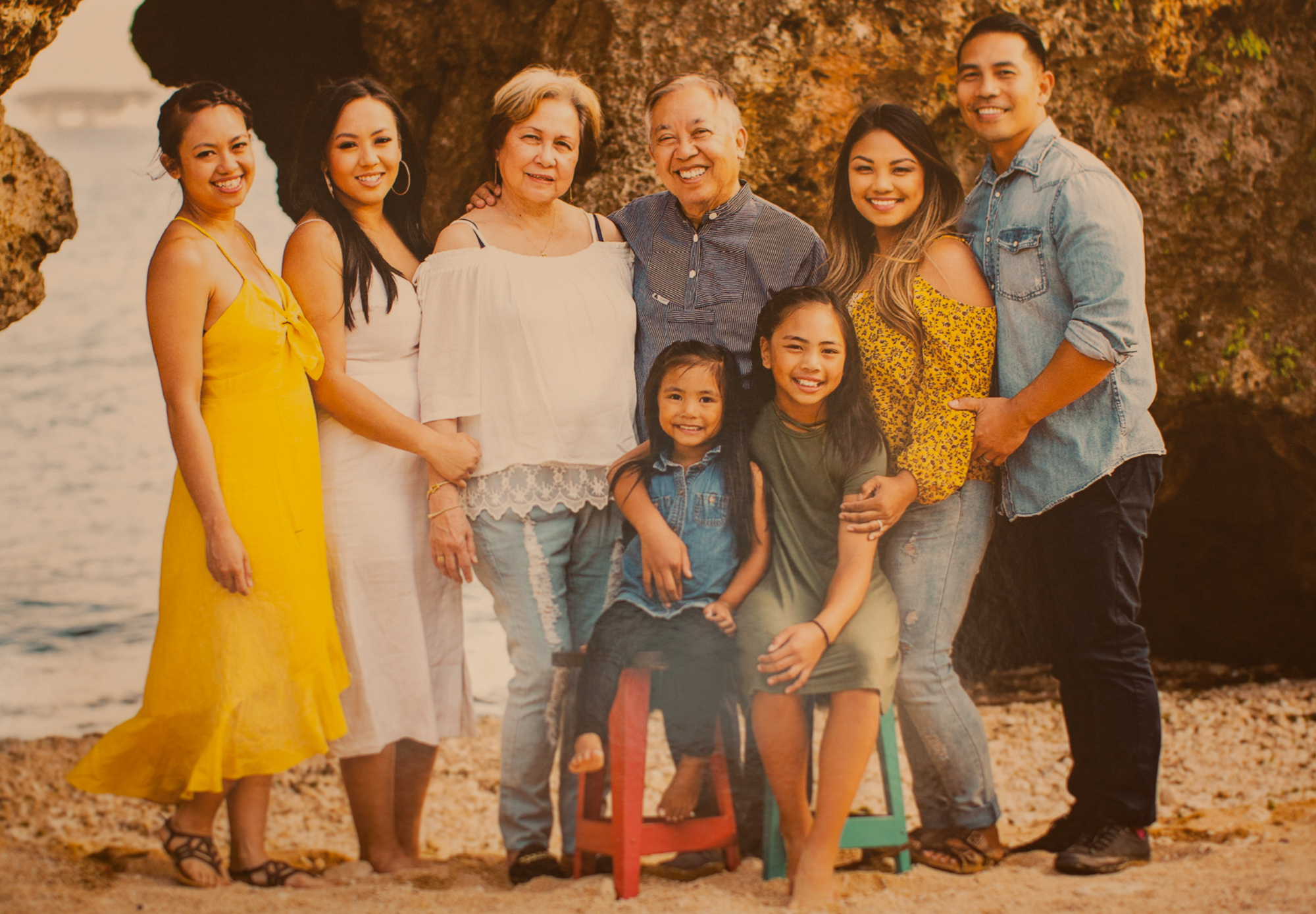 A family photo at the home of Manolo Guerra in Moreno Valley, California, Wednesday, Aug. 7, 2019. (Photo/ Kat Kaye)